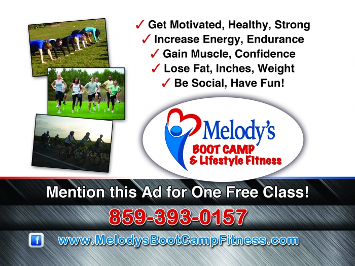 <p>Melody&#8217;s Boot Camp</p>