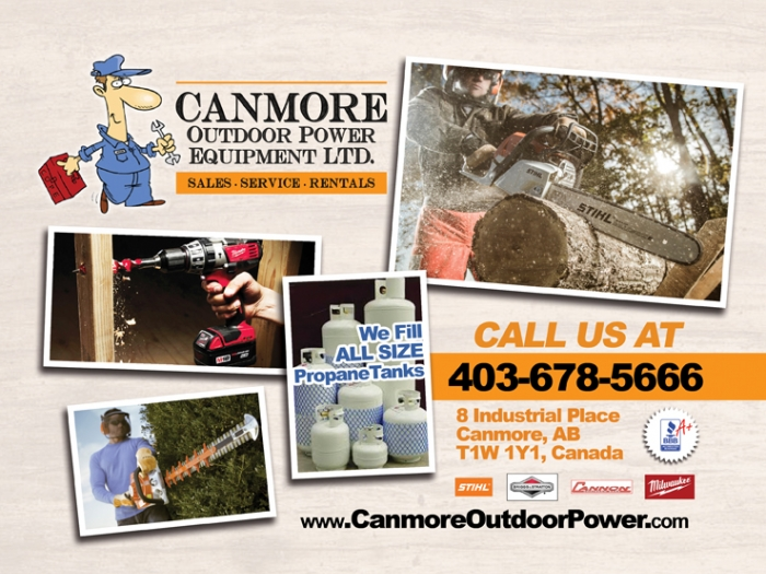 <p>Canmore Outdoor Power Equipment</p>